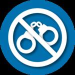 restraint free icon